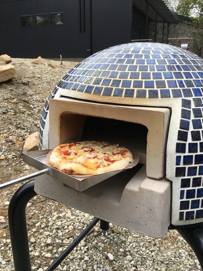 ピザ窯焼き上がり