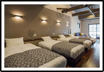 シェア別荘システムは共有持ち分制なので維持・管理が楽! 滞在中の利用料も無料